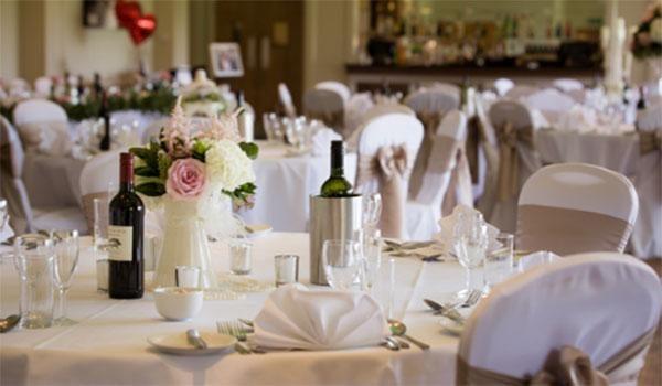 Hoebridge Wedding room
